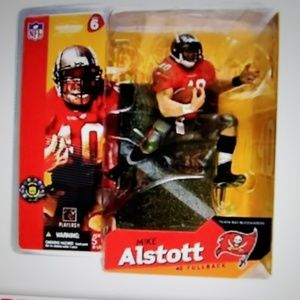 NIB, NFL, Mike Alstott Action Figure